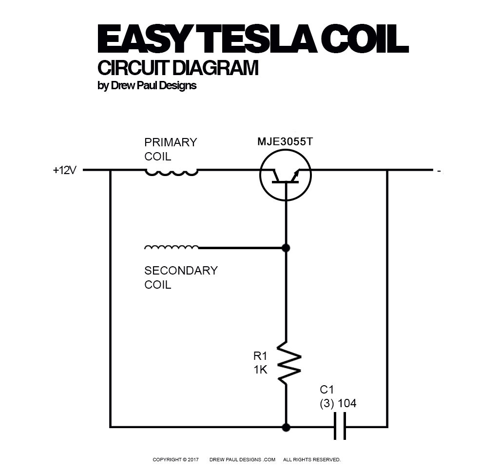 Coil Schematic Diagram Auto Electrical Wiring 2000 Chrysler Sebring Spark Plugs Cables And Tesla